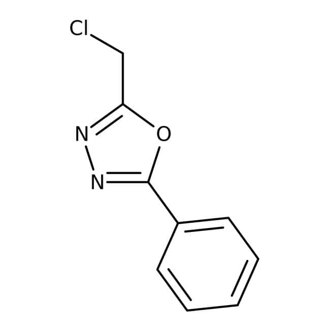 2-(Chloromethyl)-5-phenyl-1,3,4-oxadiazole, 97%, ACROS Organics™