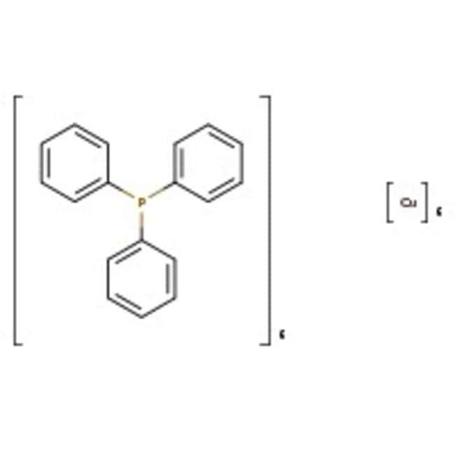Triphenylphosphinecopper(I) hydride hexamer, 96%, ACROS Organics™ 1g Triphenylphosphinecopper(I) hydride hexamer, 96%, ACROS Organics™