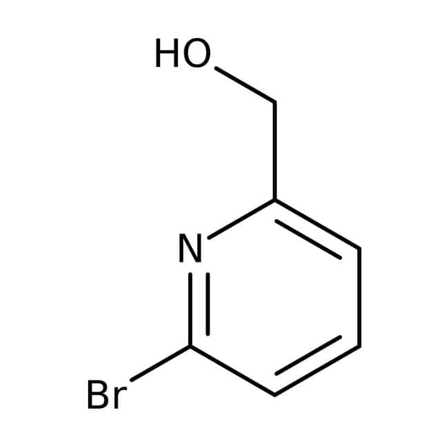 2-Bromo-6-(hydroxymethyl)pyridine, 96%, ACROS Organics™ 1g, Glass bottle 2-Bromo-6-(hydroxymethyl)pyridine, 96%, ACROS Organics™