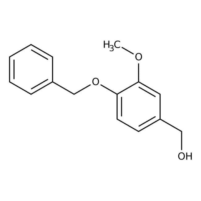 4-Benzyloxy-3-methoxybenzyl alcohol, 97%, ACROS Organics