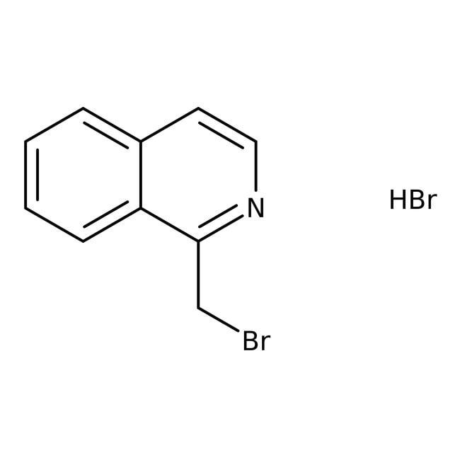 1-(Bromomethyl)isoquinoline hydrobromide, 97%, Maybridge™ 5g 1-(Bromomethyl)isoquinoline hydrobromide, 97%, Maybridge™