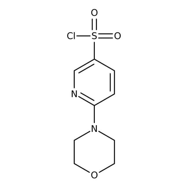 6-Morpholin-4-yl-pyridine-3-sulfonyl chloride, 97%, Maybridge