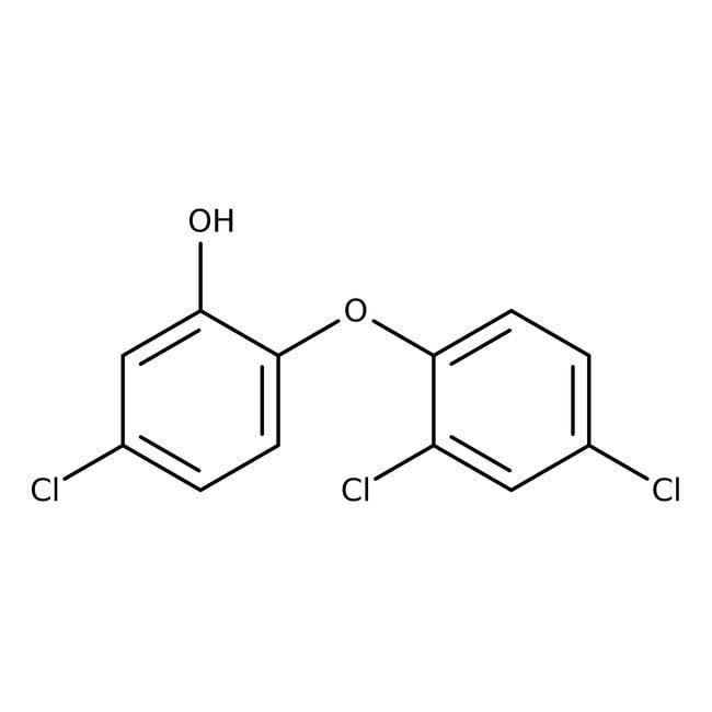 Alfa Aesar™5-Chloro-2-(2,4-dichlorophénoxy)phénol, 99% 500g Alfa Aesar™5-Chloro-2-(2,4-dichlorophénoxy)phénol, 99%