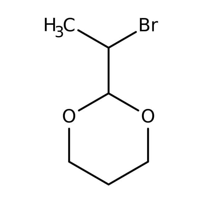 2-(2-Bromoethyl)-1,3-dioxane, 98%, ACROS Organics™ 50g; Glass bottle 2-(2-Bromoethyl)-1,3-dioxane, 98%, ACROS Organics™