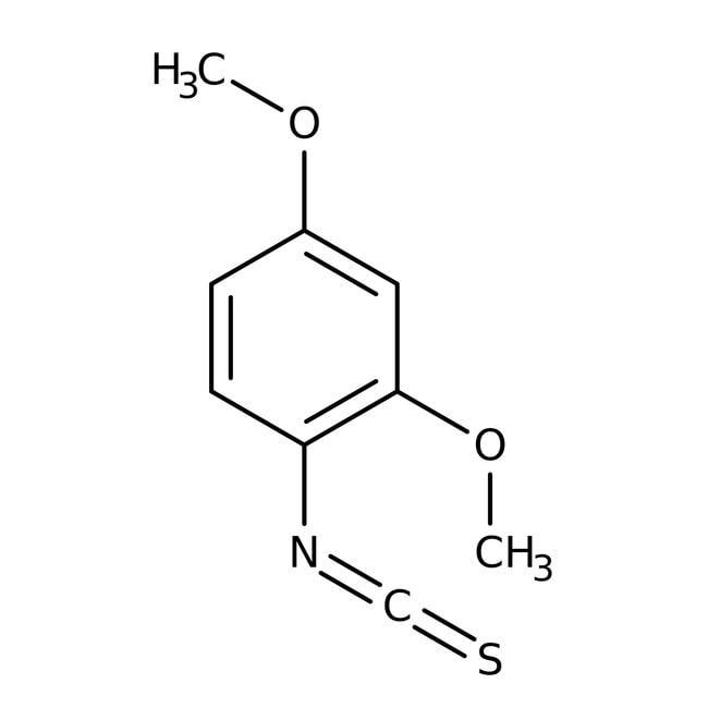Alfa Aesar™2,4-Dimethoxyphenyl isothiocyanate, 97% 5g Alfa Aesar™2,4-Dimethoxyphenyl isothiocyanate, 97%