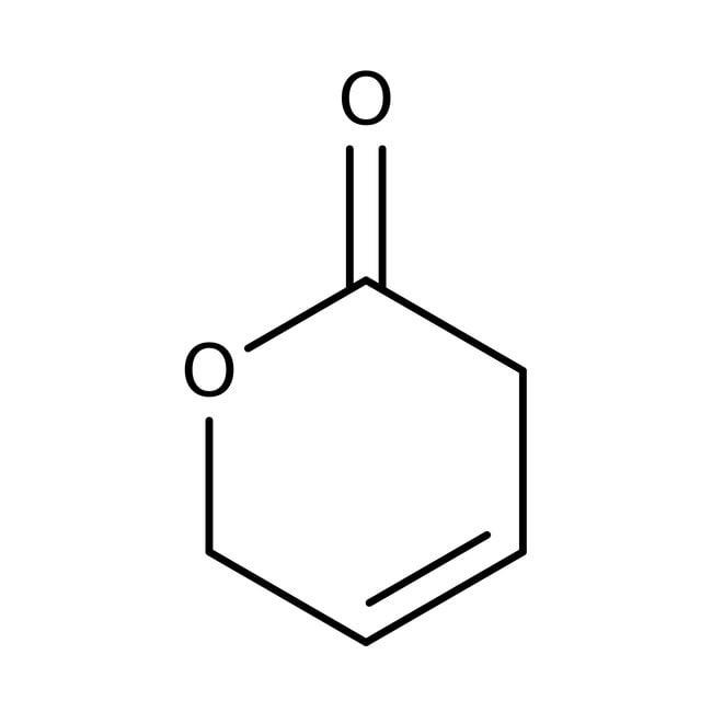 5,6-Dihydro-2H-pyran-2-one, 90%, ACROS Organics™ 5g, Glass bottle 5,6-Dihydro-2H-pyran-2-one, 90%, ACROS Organics™
