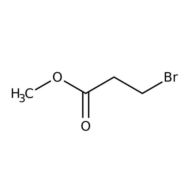 Methyl-Brompropionat3, 97 %, ACROS Organics™ 100ml-Glasflasche Methyl-Brompropionat3, 97 %, ACROS Organics™