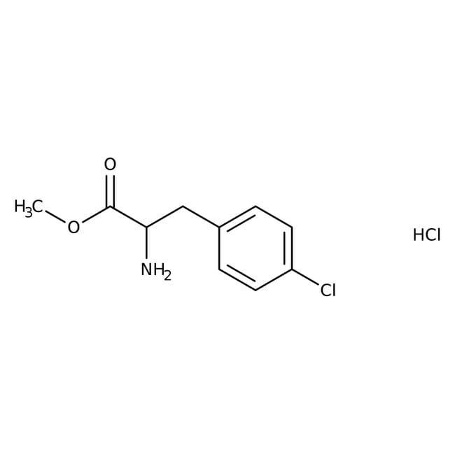 Alfa Aesar™4-Chloro-D-phenylalanine methyl ester hydrochloride, 98% 1g Alfa Aesar™4-Chloro-D-phenylalanine methyl ester hydrochloride, 98%
