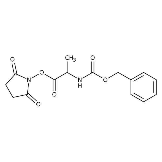 Alfa Aesar™Nalpha-Benzyloxycarbonyl-L-Alanin N-Succinimidylester, 97% 25g Alfa Aesar™Nalpha-Benzyloxycarbonyl-L-Alanin N-Succinimidylester, 97%