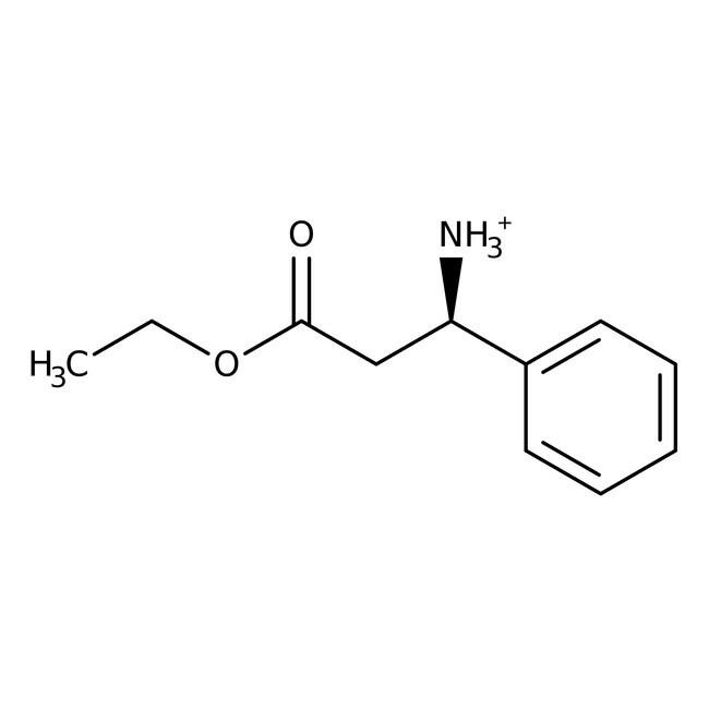 (R)-3-Amino-3-phenylpropanoic acid ethyl ester hydrochloride, 95%, 98% ee, ACROS Organics™