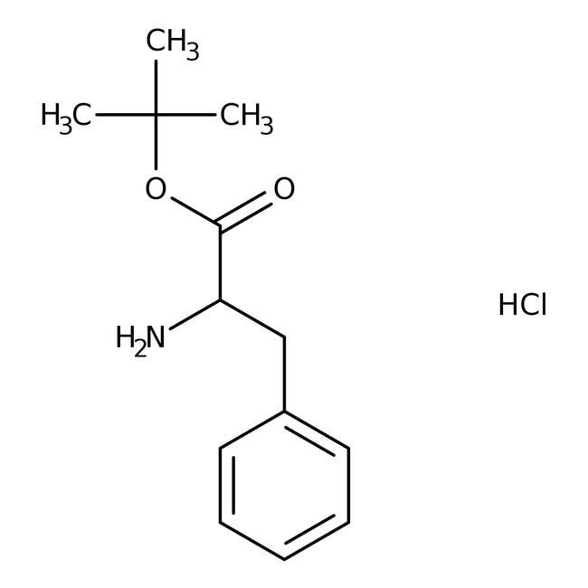 Alfa Aesar™D-Phenylalanin-tert-Butylester-Hydrochlorid, 98% 5g Alfa Aesar™D-Phenylalanin-tert-Butylester-Hydrochlorid, 98%