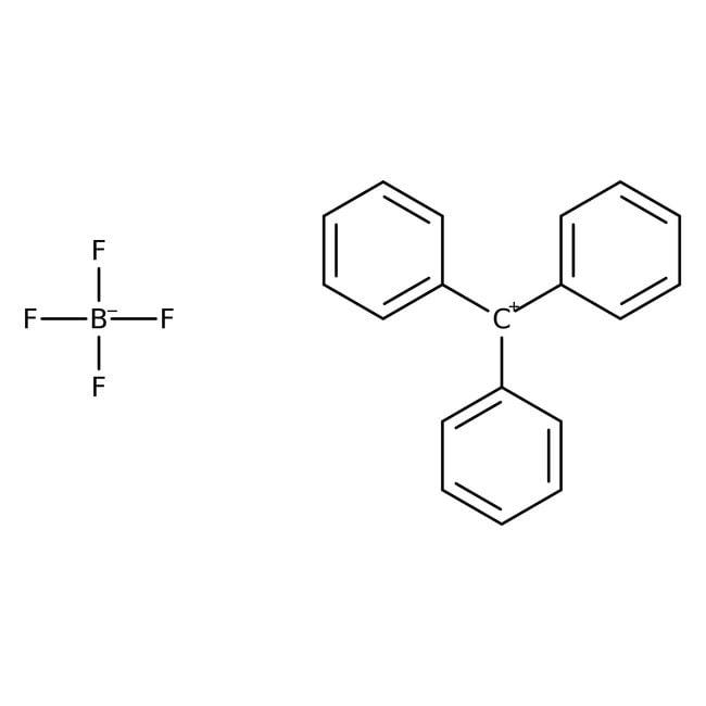 Triphenylcarbenium tetrafluoroborate, 97%, ACROS Organics™ 5g Triphenylcarbenium tetrafluoroborate, 97%, ACROS Organics™