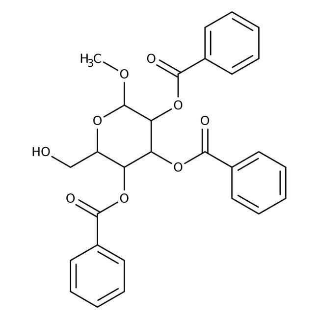 Methyl 2,3,4-Tri-O-benzoyl-alpha-D-glucopyranoside 98.0+%, TCI America™