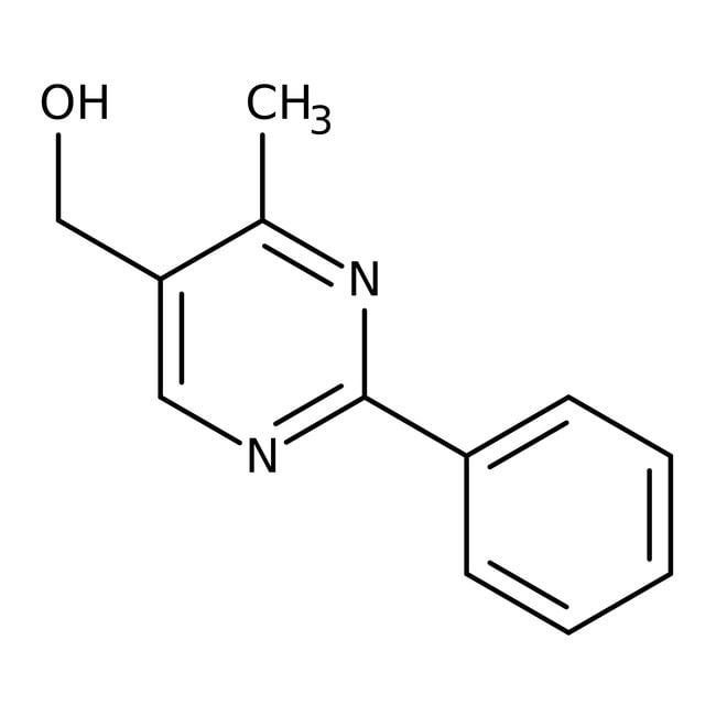 (4-Methyl-2-phenyl-5-pyrimidinyl)methanol, 95%, Maybridge™ Amber Glass Bottle; 250mg (4-Methyl-2-phenyl-5-pyrimidinyl)methanol, 95%, Maybridge™