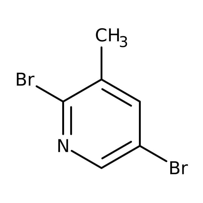 2,5-Dibromo-3-picoline, 98%, ACROS Organics