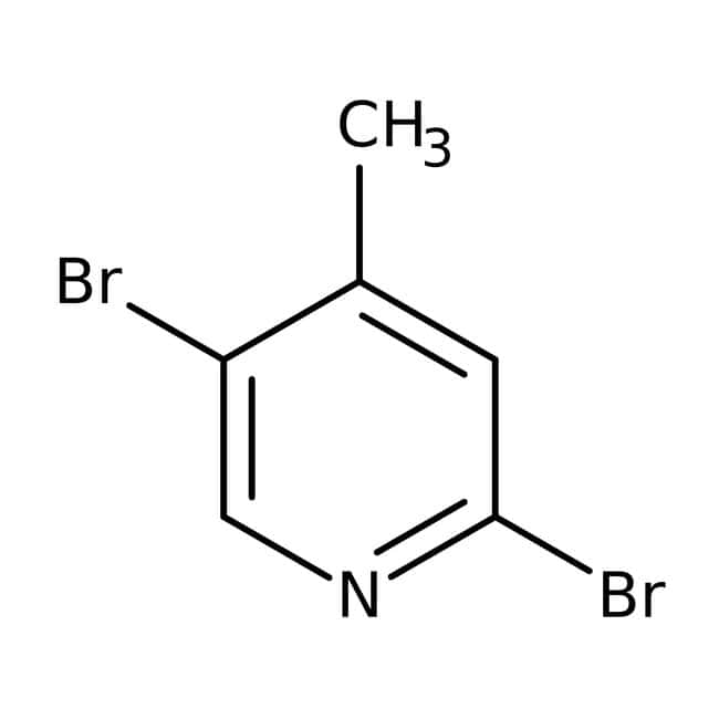2,5-Dibromo-4-picoline, 98%, ACROS Organics