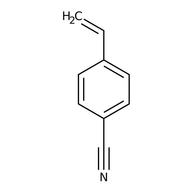 4-Cyanostyrene, 95%, stabilized, ACROS Organics™