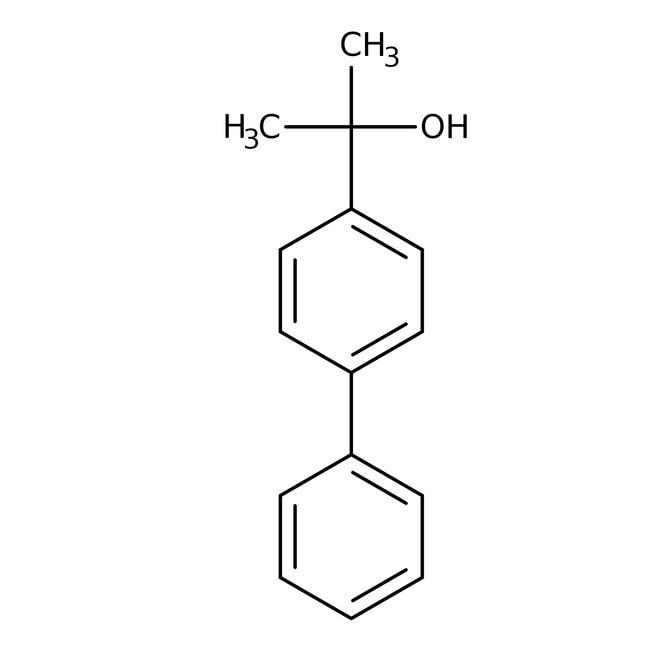 Alfa Aesar™2-(4-Biphenylyl)-2-propanol, 95% 10g Alfa Aesar™2-(4-Biphenylyl)-2-propanol, 95%