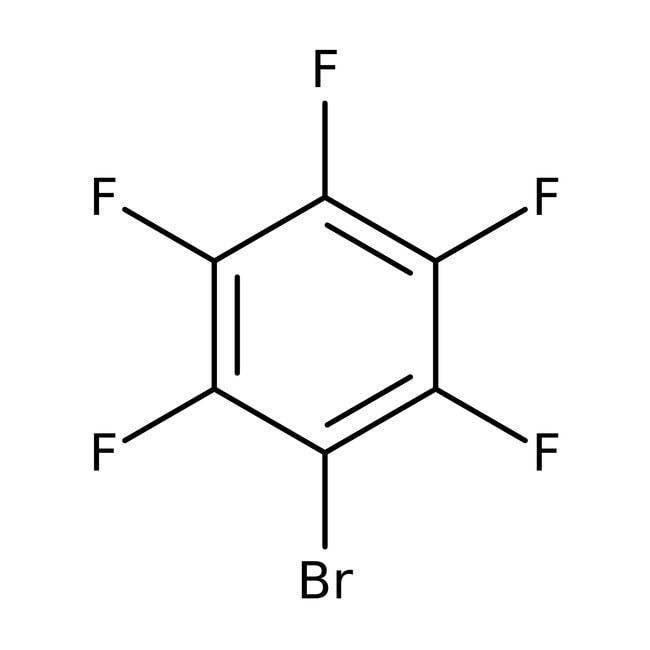 Bromopentafluorobenzene, 99%, ACROS Organics™ 5mL; Glass bottle Bromopentafluorobenzene, 99%, ACROS Organics™