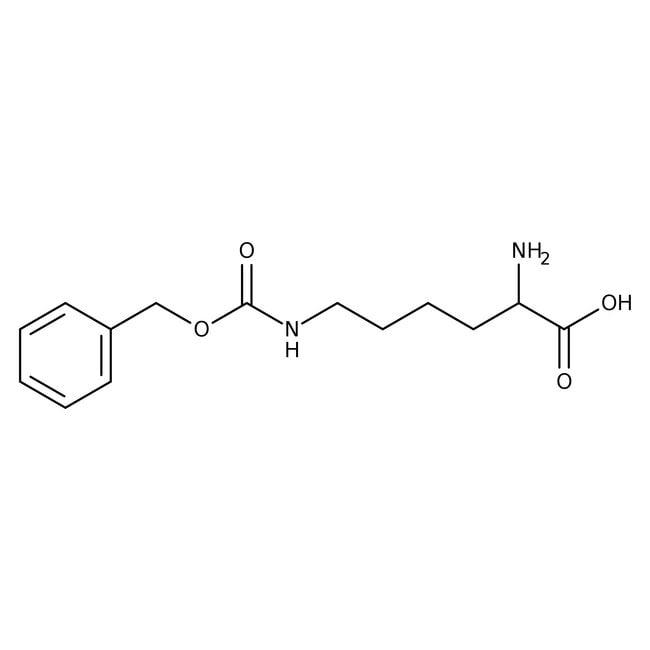 Alfa Aesar™Nepsilon-Benzyloxycarbonyl-D-lysine, 95% 25g Alfa Aesar™Nepsilon-Benzyloxycarbonyl-D-lysine, 95%