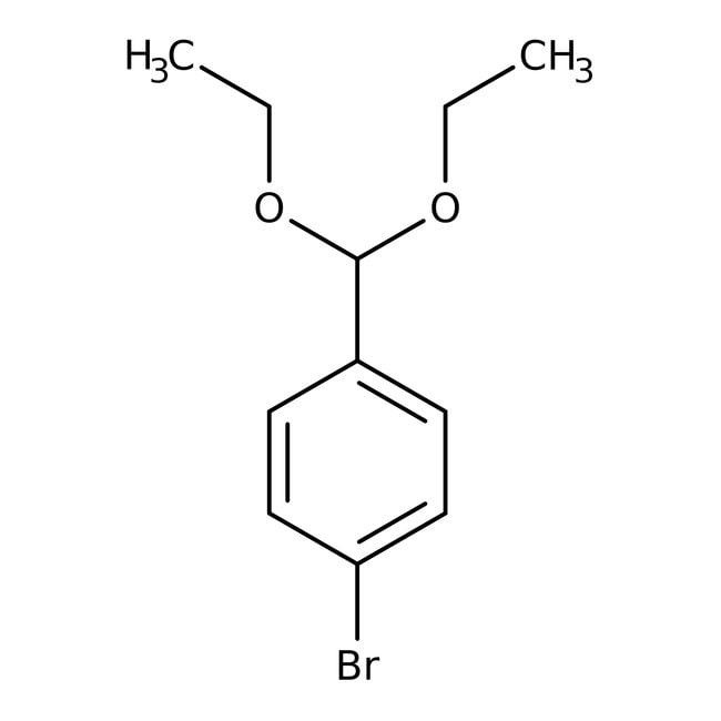 4-Bromobenzaldehyde diethyl acetal, 99%, Acros Organics