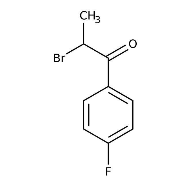 Alfa Aesar™2-Bromo-1-(4-fluorophenyl)-1-propanone, 98%