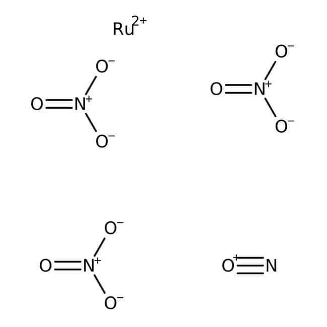 Ruthenium(III) nitrosyl nitrate, in diluted aq. nitric acid solution, Acros Organics