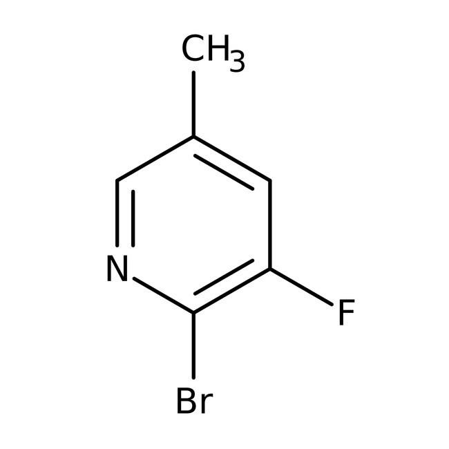 Alfa Aesar™2-Bromo-3-fluoro-5-methylpyridine, 98% 1g Alfa Aesar™2-Bromo-3-fluoro-5-methylpyridine, 98%