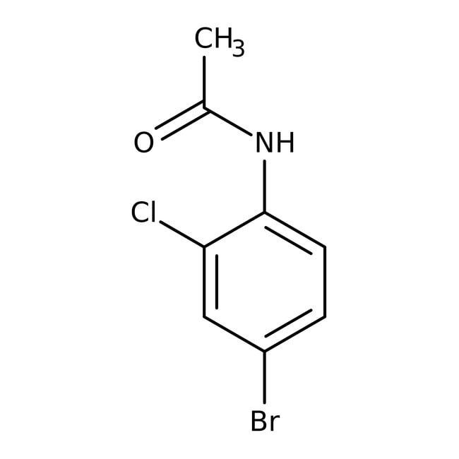 Alfa Aesar™4'-Bromo-2'-chloroacetanilide, 98+% 25g prodotti trovati