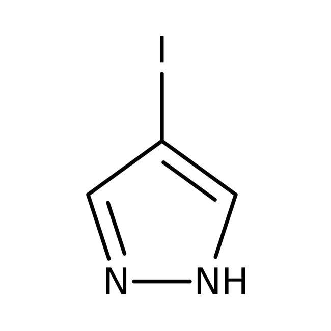 Alfa Aesar™4-iodo-1H-pyrazole, 99% 25g Alfa Aesar™4-iodo-1H-pyrazole, 99%