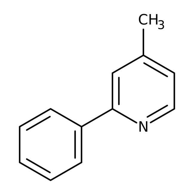 4-Methyl-2-phenylpyridine 97.0 %, TCI America