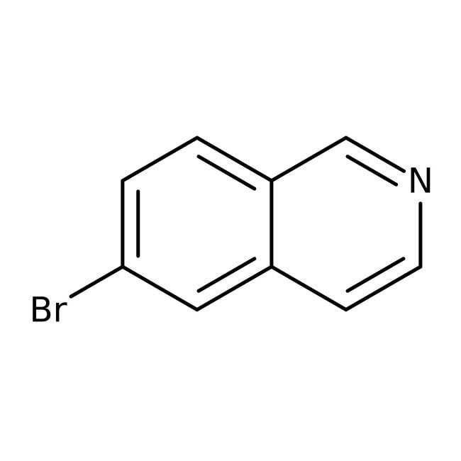 6-Bromoisoquinoline, 97%, ACROS Organics™ 5g; Glass bottle 6-Bromoisoquinoline, 97%, ACROS Organics™