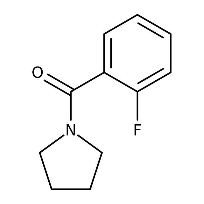 Alfa Aesar™1-(2-Fluorobenzoyl)pyrrolidine, 97% 250mg Alfa Aesar™1-(2-Fluorobenzoyl)pyrrolidine, 97%