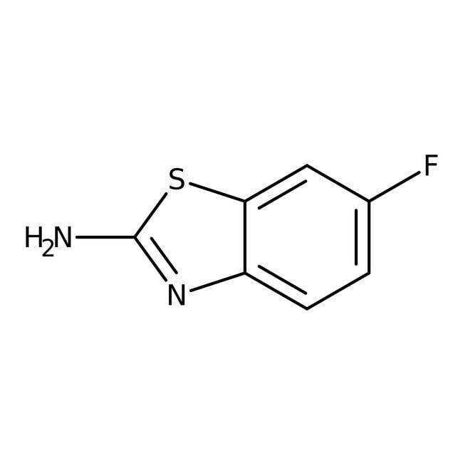 Alfa Aesar  2-Amino-6-fluorobenzothiazole, 99%