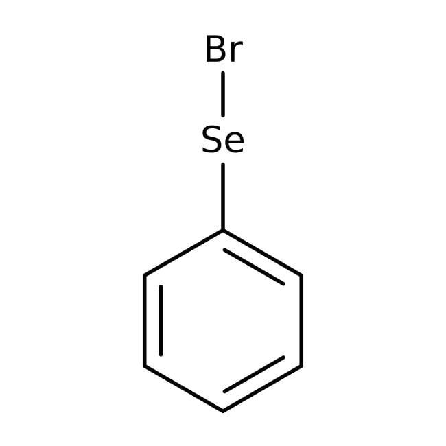 Alfa Aesar™Bromuro de fenilselenenilo, 98% 25g Alfa Aesar™Bromuro de fenilselenenilo, 98%