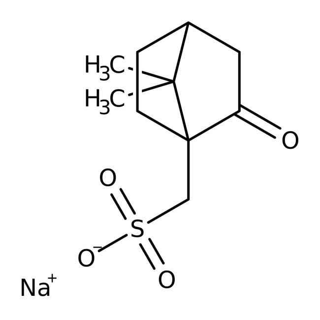 DL-10-Camphorsulfonic acid, sodium salt, 98%, ACROS Organics™