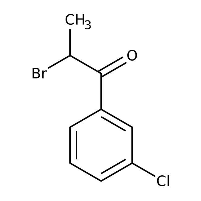 Alfa Aesar™2-Bromo-3'-chloropropiophenone, 98% 5g Alfa Aesar™2-Bromo-3'-chloropropiophenone, 98%