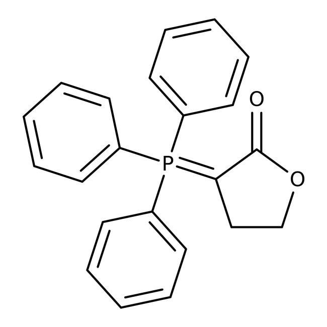 3-(Triphenylphosphoranylidene)dihydrofuran-2-(3H)-one, 97%, ACROS Organics™ 1g 3-(Triphenylphosphoranylidene)dihydrofuran-2-(3H)-one, 97%, ACROS Organics™