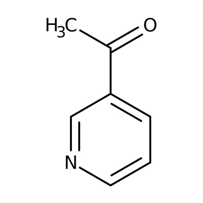 3-Acetylpyridine, 98%, ACROS Organics™ 10g; Glass bottle 3-Acetylpyridine, 98%, ACROS Organics™
