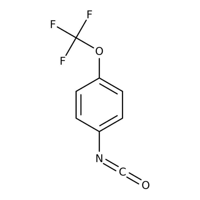 4-(Trifluoromethoxy)phenyl isocyanate, 97%, Maybridge 25g prodotti trovati