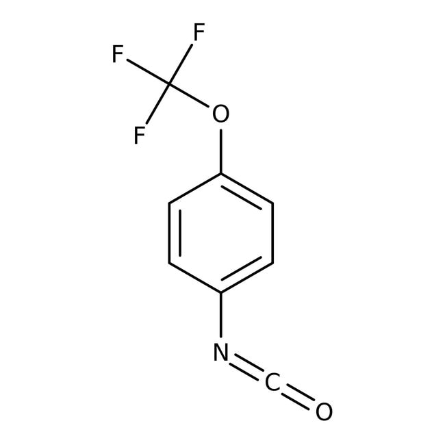 4-(Trifluoromethoxy)phenyl isocyanate, 97%, Maybridge 25g 4-(Trifluoromethoxy)phenyl isocyanate, 97%, Maybridge