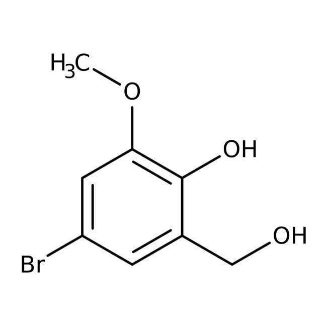 Alfa Aesar  5-Bromo-2-hydroxy-3-methoxybenzyl alcohol