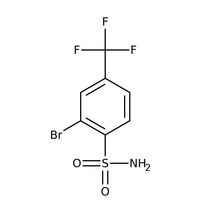 Alfa Aesar™2-Bromo-4-(trifluoromethyl)benzenesulfonamide, 97% 1g prodotti trovati