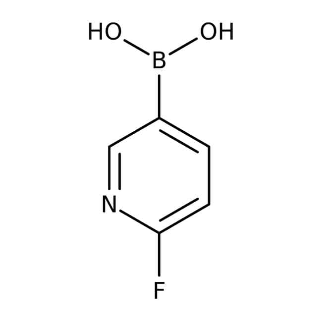 6-Fluoro-3-pyridinylboronic acid, 97%, ACROS Organics™: Halopyridines Pyridines and derivatives
