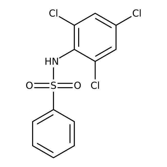 Alfa Aesar™N-(2,4,6-Trichlorophenyl)benzenesulfonamide, 97% 1g Alfa Aesar™N-(2,4,6-Trichlorophenyl)benzenesulfonamide, 97%