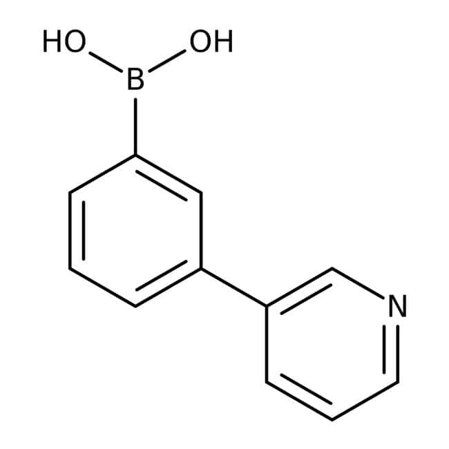 Alfa Aesar™3-(3-Pyridyl)-benzolboronsäure, 98% 5g Alfa Aesar™3-(3-Pyridyl)-benzolboronsäure, 98%