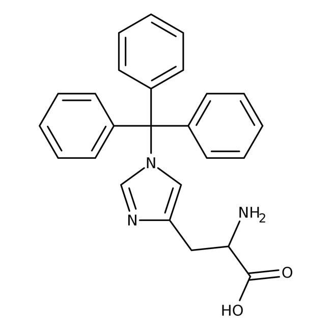 Alfa Aesar™1-Trityl-L-histidine, 98% 5g Alfa Aesar™1-Trityl-L-histidine, 98%