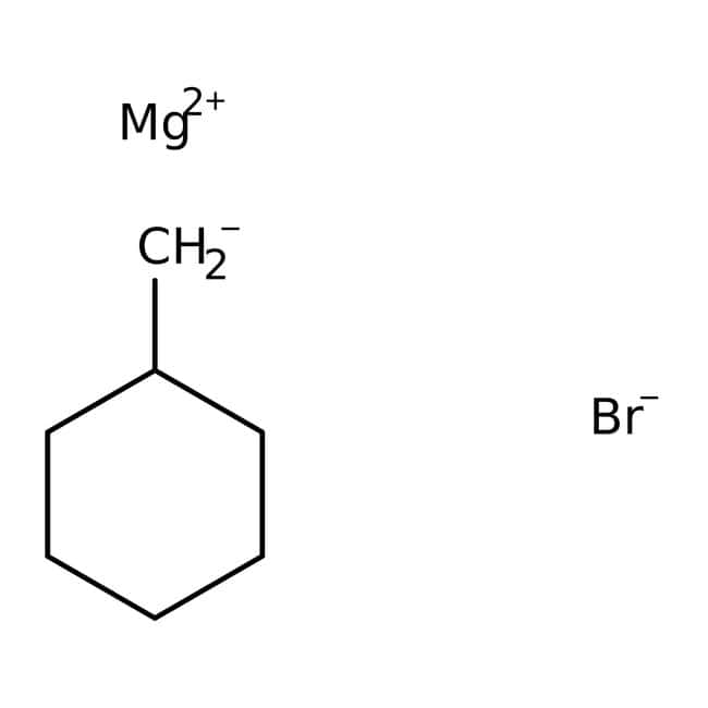 Cyclohexylmethylmagnesium bromide, 0.25M solution in THF, AcroSeal , Acros Organics