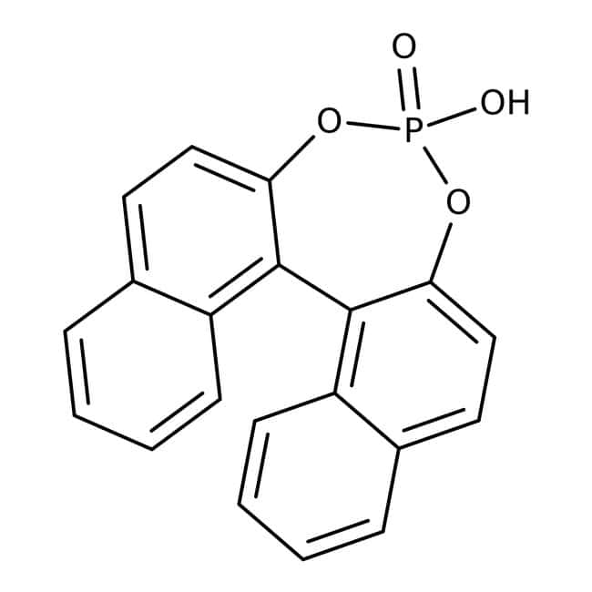 Alfa Aesar™1,1'-Binaphthyl-2,2 '-Diylhydrogenphosphat, 99% 1g Alfa Aesar™1,1'-Binaphthyl-2,2 '-Diylhydrogenphosphat, 99%