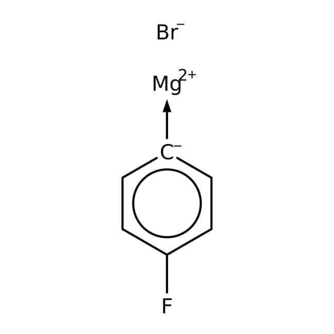 4-Fluorophenylmagnesiumbromid, 0.8 M Lösung in THF, AcroSeal™, ACROS Organics™: Halobenzenes Benzene and substituted derivatives